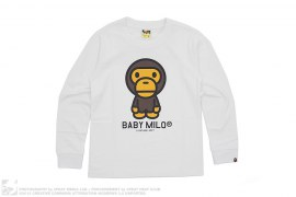 Classic Baby Milo Long Sleeve Tee by A Bathing Ape