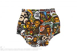 Milo Comic Nappy Cover by A Bathing Ape