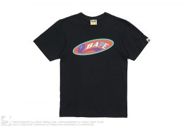 BAPE Oval Logo Tee by A Bathing Ape