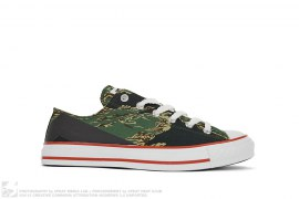 Tiger Camo 3M Reflective Apesta Low Chucks by A Bathing Ape