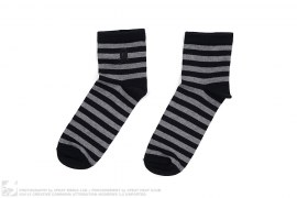 Cross Bones Striped Apehead Socks by A Bathing Ape