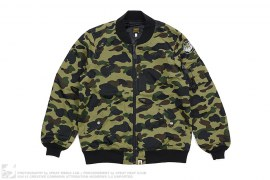 Ultimate 1st Camo Lightweight MA1 Bomber Jacket by A Bathing Ape