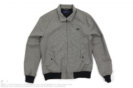 Houndstooth Laurel Wreath Jacket by Fred Perry