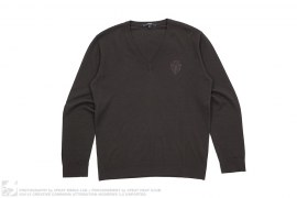 mens sweater Wool V-Neck Sweater by Gucci