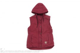 Pile Lined Hooded Vest by Carhartt