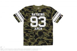 1st Camo Cotton Football Jersey by A Bathing Ape x Champion
