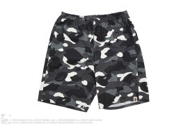 City Camo Beach Shorts by A Bathing Ape