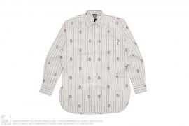 Astronaut Helmut Long Sleeve Button Up Shirt by BBC/Ice Cream