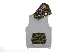 1st Camo Hood Sleeveless Shark by A Bathing Ape