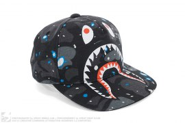 Space Camo Shark Snapback by A Bathing Ape