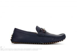 mens shoes Leather Slip On Drivers by Gucci