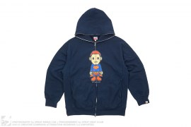 Milo Superman Hoodie by A Bathing Ape x DC Comics