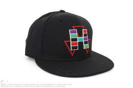 Tetris Fitted Baseball Cap by Hall of Fame x New Era