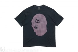 Ski Mask Textured Print Tee by Nitraid