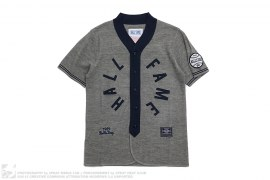 Knit Baseball Top by Hall of Fame