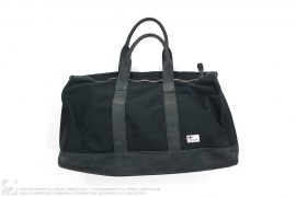 Canvas & Leather Duffle Bag by adidas x David Beckham