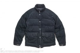 Corduroy Puffer Classic Down Jacket by A Bathing Ape