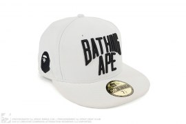 New York Logo New Era Fitted by A Bathing Ape