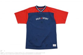 Polo Sport Mesh Jersey Top by Ralph Lauren