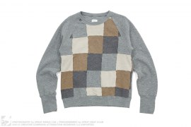 Checkered Crewneck Sweatshirt by ts(s)
