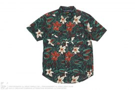 Lord Of The Flies Collection Venus Fly Trap Print Button Up by 10deep