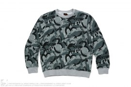 Brush Logo Crewneck Sweatshirt by Evisu