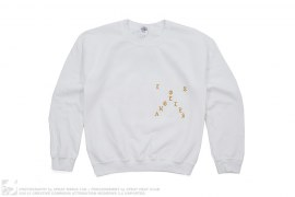 TLOP LA Pop-Up Real Friends Crewneck Sweatshirt by Kanye West