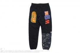 Space Camo Shark Sweatpants by A Bathing Ape