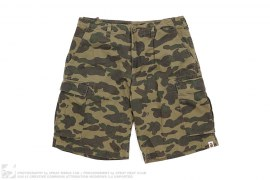 1st Camo Military Chino Shorts by A Bathing Ape