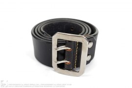 Leather Belt by Evisu