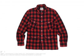 Plaid Flannel Button-Up by OriginalFake