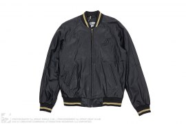 Flying B Leather Bomber Jacket by BBC/Ice Cream