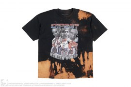 Dipset Harlem World Bleached Tee by Vintage Bleach