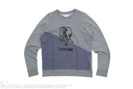 Weird General Two Sides To Everything Lightweight Crewneck by A Bathing Ape
