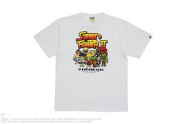 Street Fighter II All Star Tee by A Bathing Ape x Capcom