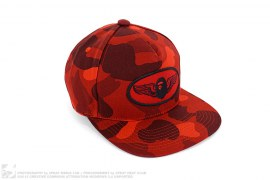 Color Camo Wing Logo Snapback by A Bathing Ape