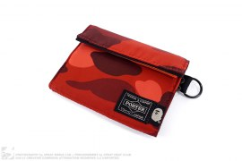 Color Camo Wallet by A Bathing Ape x Porter