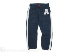A Applique Stripe Sweatpants by A Bathing Ape