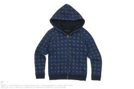 Warm Regards Monogram Zip Up Hoodie by OriginalFake