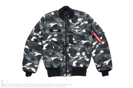 Ultimate City Camo MA1 Bomber Jacket by A Bathing Ape
