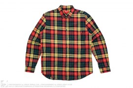 Button Down Flannel Shirt by Supreme