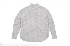 Multi Grid Ape Head Long Sleeve Shirt by A Bathing Ape