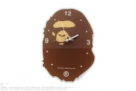 Apehead Wall Clock by A Bathing Ape