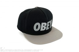 Classic Logo Snapback by Obey