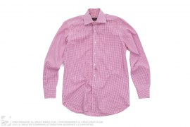 Gingham Button Up Shirt by Etro