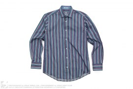 Stripe Button Up Shirt by Bugatchi