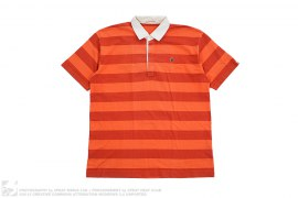 Striped Apehead Polo by A Bathing Ape