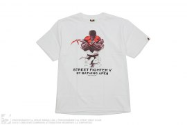 Street Fighter II ABC Camo Ryu Tee by A Bathing Ape x Capcom