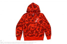 Coca Cola Camo Full Zip Hoodie by A Bathing Ape x Coca-Cola