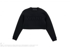 Oversized Neoprene Scuba Crop Top by Alexander Wang x H&M